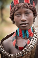 Banna tribe:   See more in the book: http://www.blurb.com/b/4633120-people-of-the-omo-valley-under-climate-and-other-p