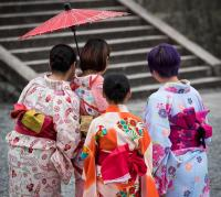 Women in Kyoto, Japan