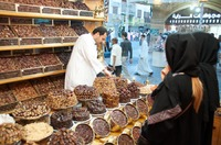Date shopping in Jeddah, Saudi Arabia