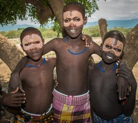 Tsemay tribe:   See more in the book: http://www.blurb.com/b/4633120-people-of-the-omo-valley-under-climate-and-other-p
