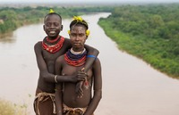 Karo tribe:  See more in the book: http://www.blurb.com/b/4633120-people-of-the-omo-valley-under-climate-and-other-p