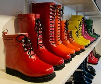 Rubber boots in Hornbaek