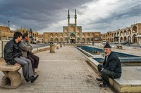 Iraqi refugees in Yazd, Iran