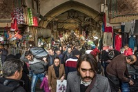 Afternoon in the  Bazaar in Tehran, Iran