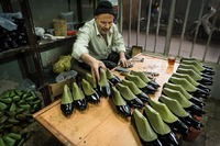 Shoe Maker in Isfahan, Iran