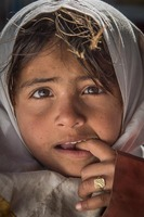 Migrant Pakistani Girl, Iran
