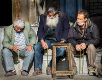Men in Isfahan, Iran
