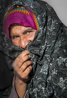 Migrant Pakistani Woman, Iran