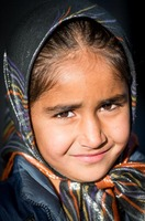 Girl in Kavar, Iran