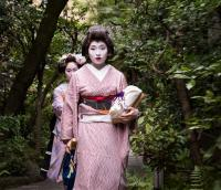 Geishas in Kyoto, Japan
