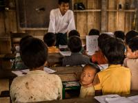 Naga Village School in Myanmar